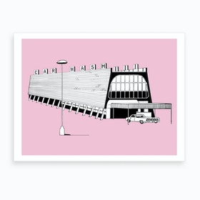 Breaking Bad Car Wash Art Print