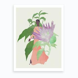 In The Garden Galaxy 2 Art Print