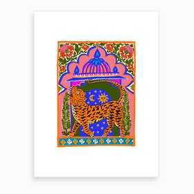 Tiger Temple Art Print