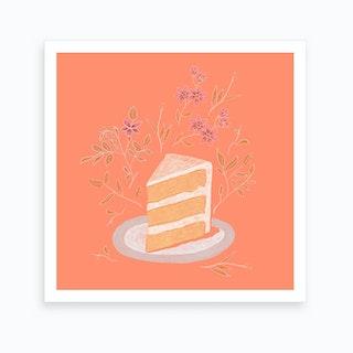 Piece Of Cake 2 Art Print