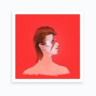 Ziggy Stardust Art Print