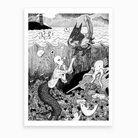 Tickled Art Print