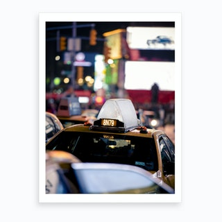 Times Square Bits  Art Print