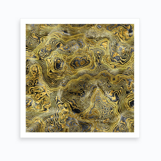 Abstract Marble I Art Print