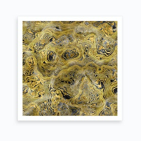 Abstract Marble I Art Print