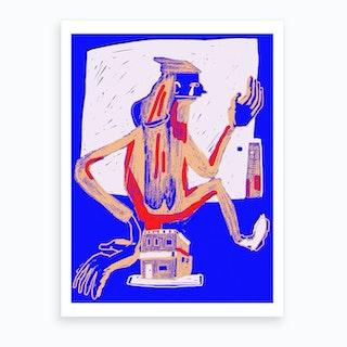 I'm Blue Art Print