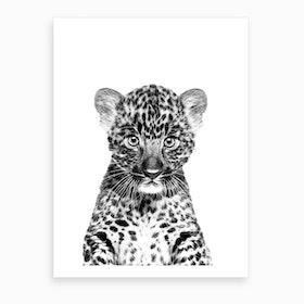 Little Leopard Art Print