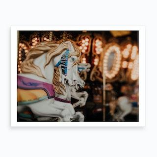 Horses And Memories Art Print