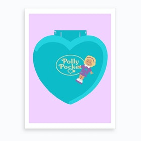 Polly Pocket Art Print