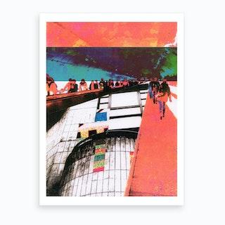 Urban Graphic III Art Print