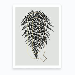 Abc Plant Q Art Print