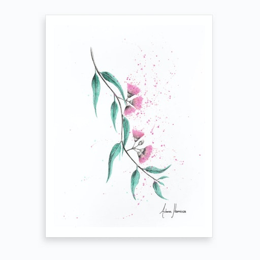 Eucalyptus Lush Art Print
