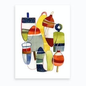 More Buoyancy Art Print