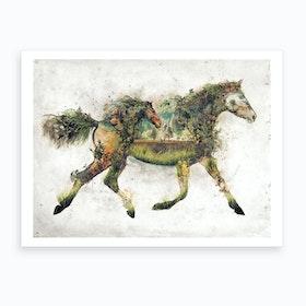 Surreal Horse Art Print