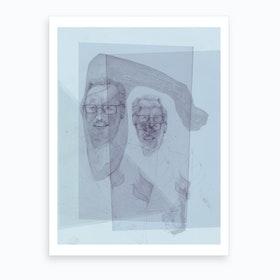 Huvudet Under Armen Art Print
