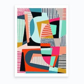 Color Shot Art Print