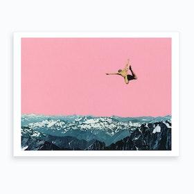 Higher Than Mountains Art Print