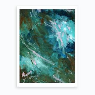 Greenery Clutter 1 Art Print