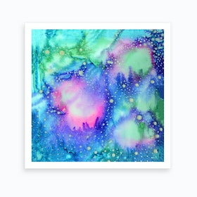 Cosmic World Art Print