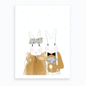 Les Maries I Art Print