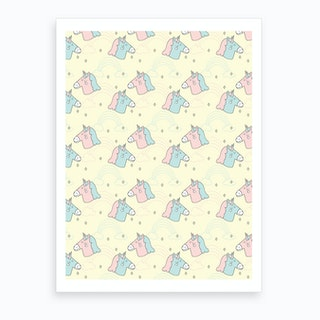 Unicorns Art Print