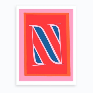 N Art Print
