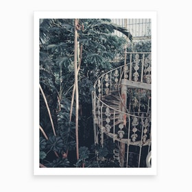 Conservatory Stairs Art Print