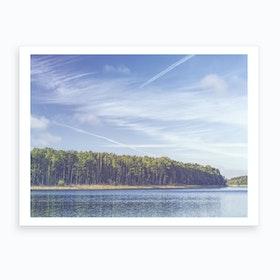 Summer Lake 1 Art Print