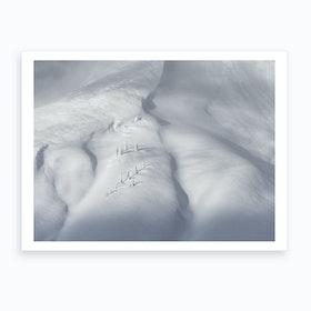 Planet Snow III Art Print
