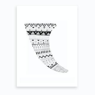 Salt And Surf   Aztec Fin Art Print