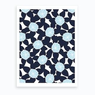 Blue First Day Of Summer Art Print