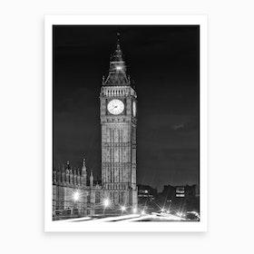 Elizabeth Tower Art Print