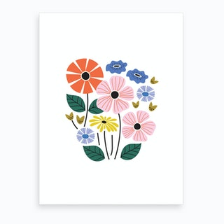 Bouquet Art Print