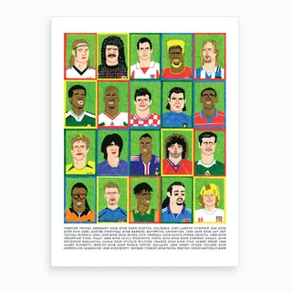 World Cup All Stars Art Print