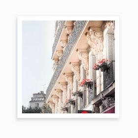 Paris Balcony Art Print