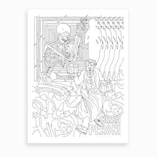 Macro In Rome Art Print