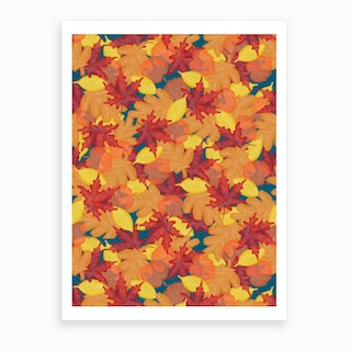 Bright Fall Art Print