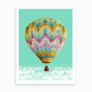 Dream Balloon Art Print