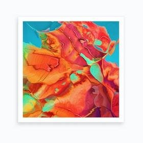 Blossoming Into Something New Art Print