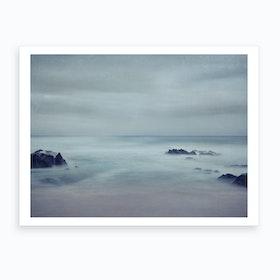 Sea Of Longing 2 Art Print