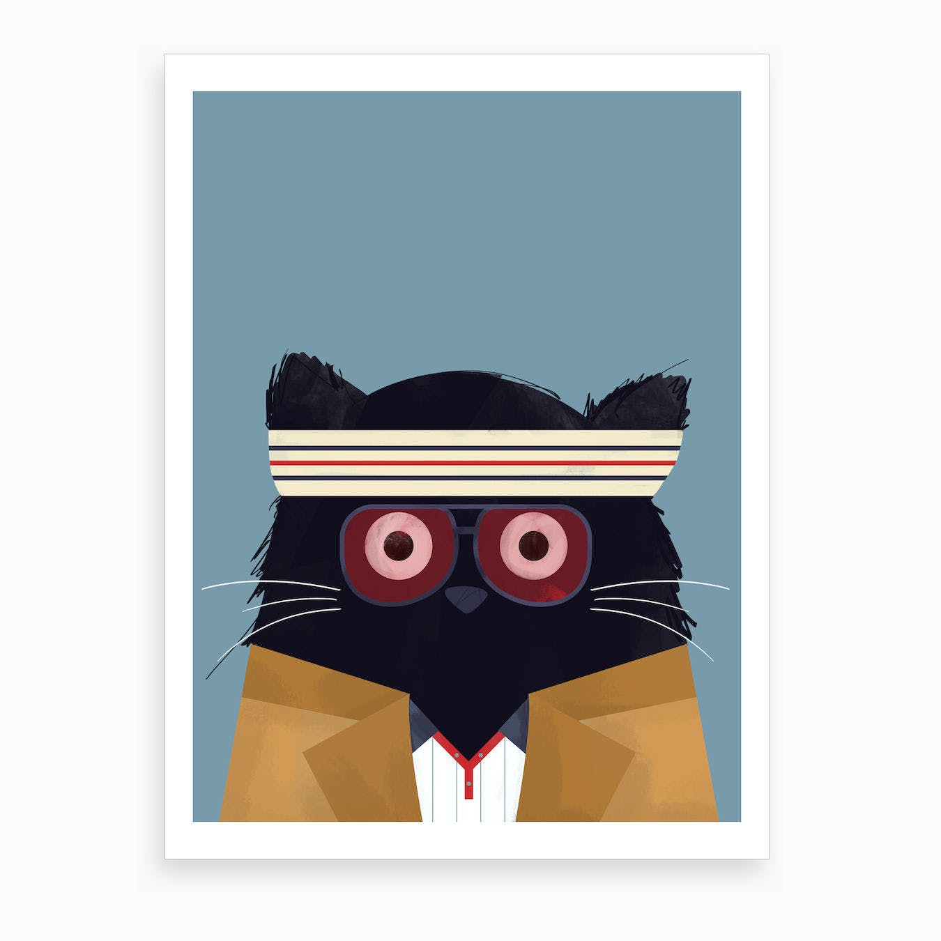Cat Tenenbaums Art Print