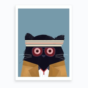 Cat Tenenbaums Art Print