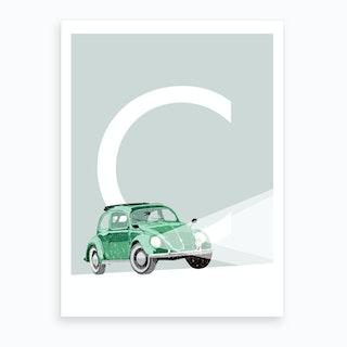 C Car Art Print