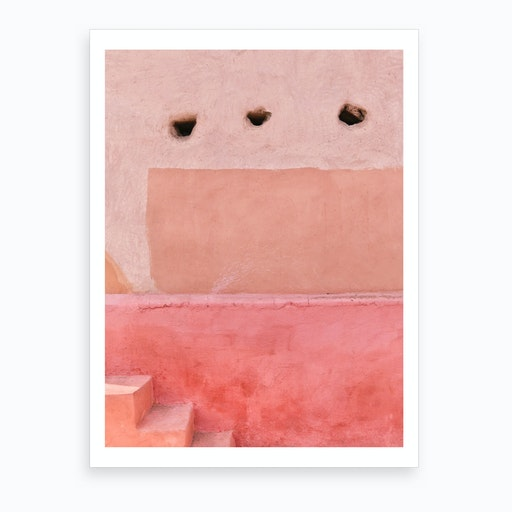 Colors Of Morocco Art Print
