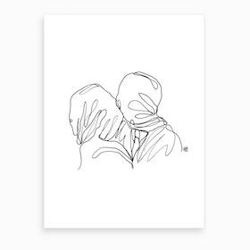 Loveletter To The Lovers Art Print