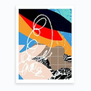 Poolside Iv Art Print