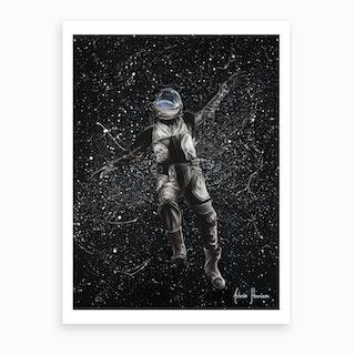 A Space Adventure  Art Print