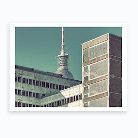 Haus Der Statistik 01 Art Print