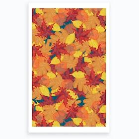 Wrong Bright Fall Art Print