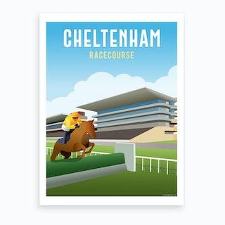 Cheltenham Racecourse Art Print